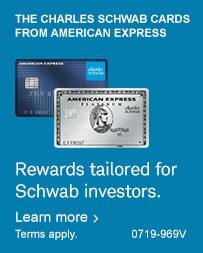 Rewards tailored for Schwab investors.