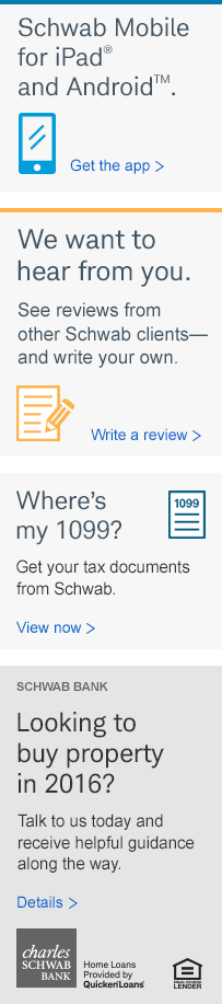 Schwab Mobile. Get the app.