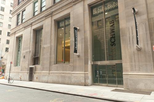 Charles Schwab New York City Location