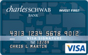 Schwab One Invest First Visa Signature credit card